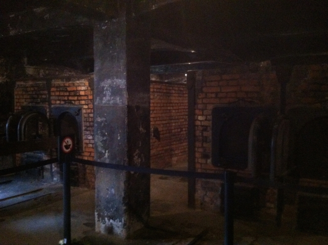 Auschwitz furnaces