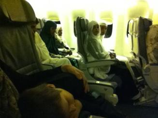 Plane to Saudi Arabia