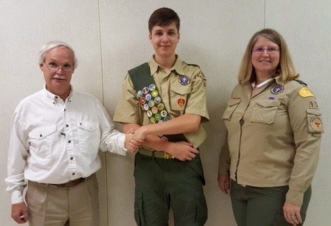 Tyler Eagle Scout