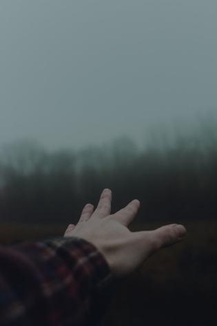 hand dark